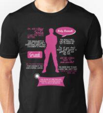 Stargate SG-1 - Sam quotes (Pink/White design) Unisex T-Shirt