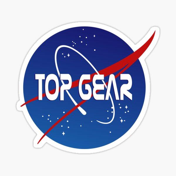Top Gear 'NASA' logo Sticker