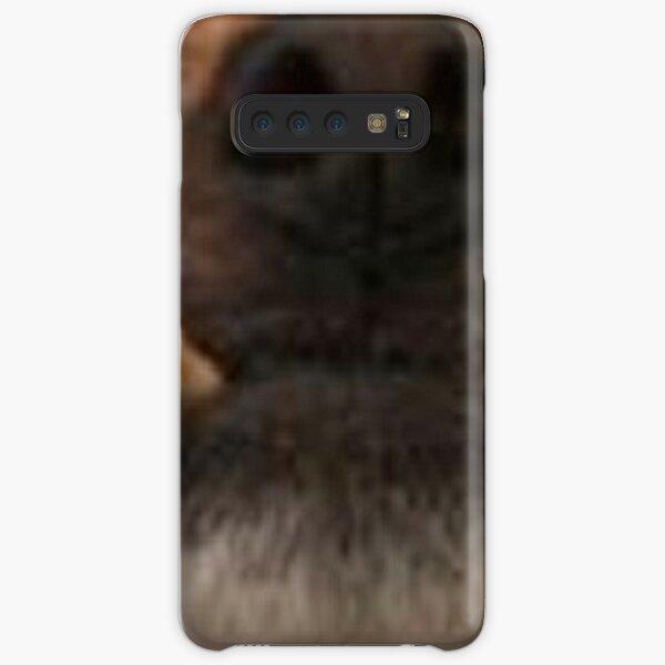 Pupper Halloween Face Samsung Galaxy Snap Case