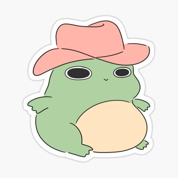 Cowboy froggy Sticker