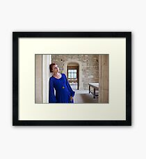 If time were not a moving thing Framed Print