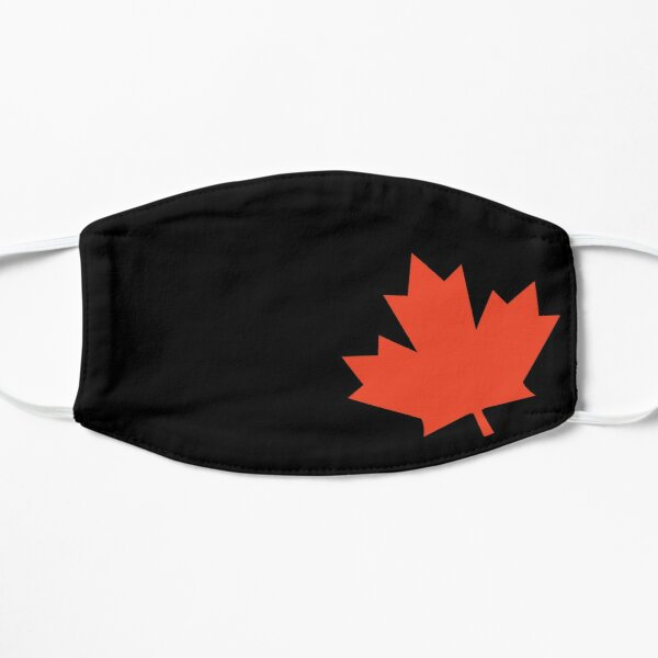 Canadian Maple Leaf Flat Mask