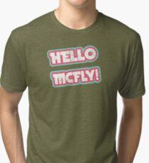 Hello McFly! Tri-blend T-Shirt