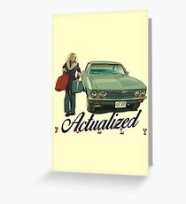 Actualized Fully (FARGO) Greeting Card