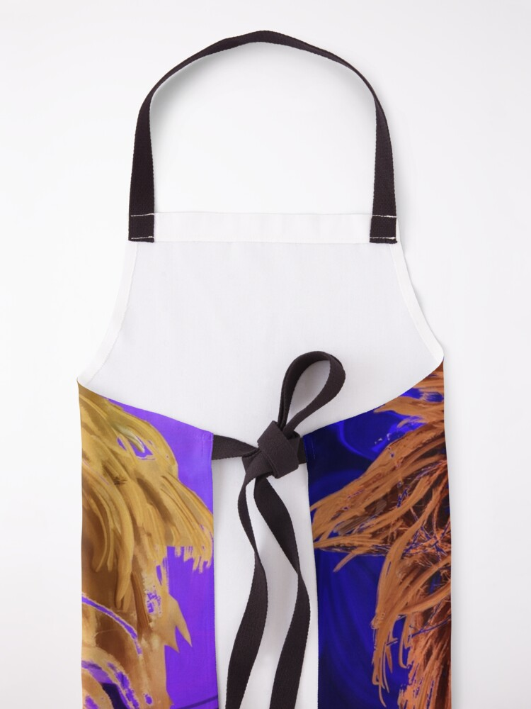 Alternate view of INDY LOVE Apron