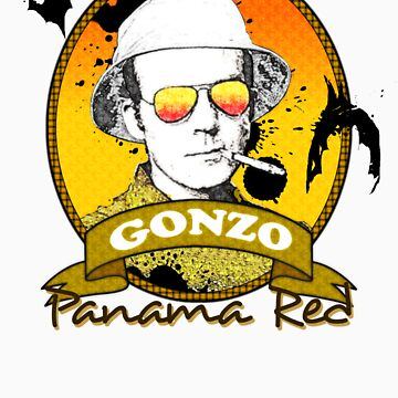 Panama Red - Hunter S Thompson by jcl3042