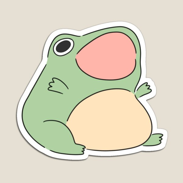 Screaming froggy Magnet