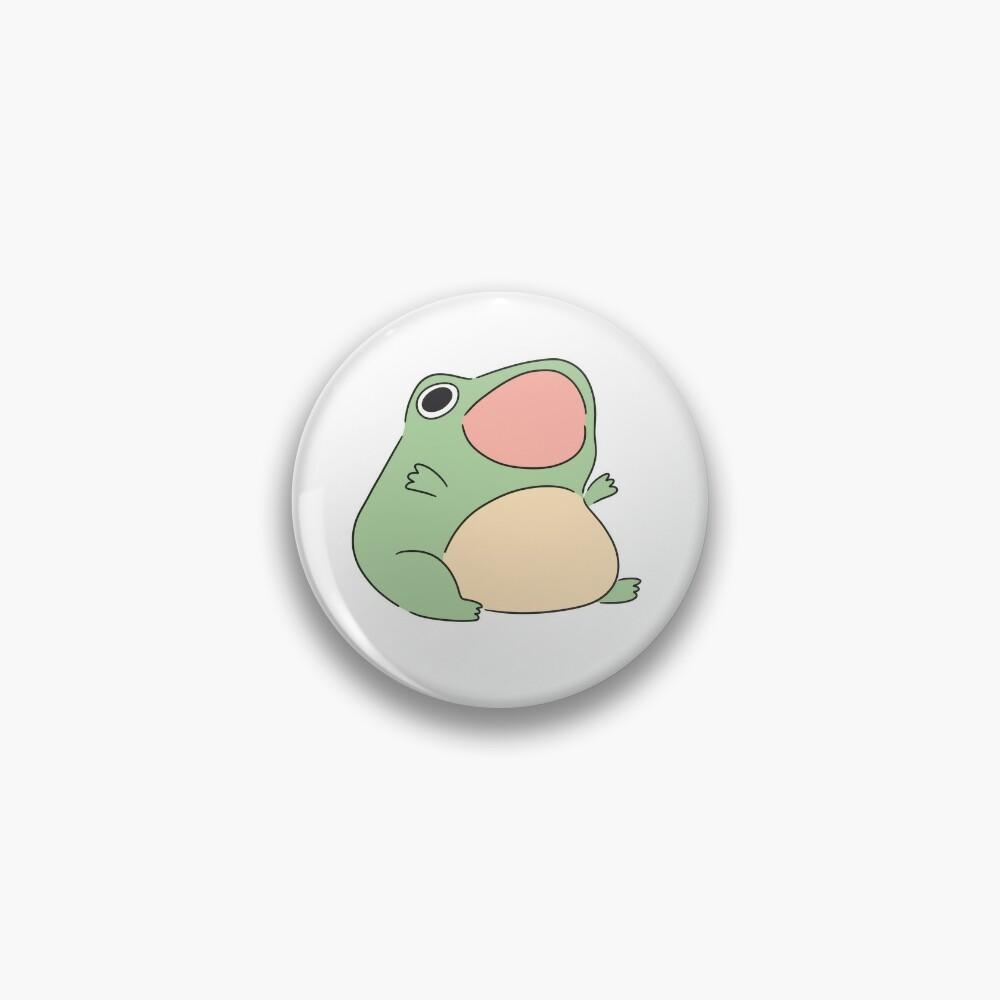 Screaming froggy Pin