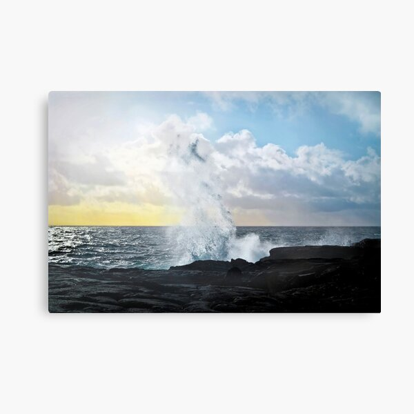 Pacific Rising Canvas Print