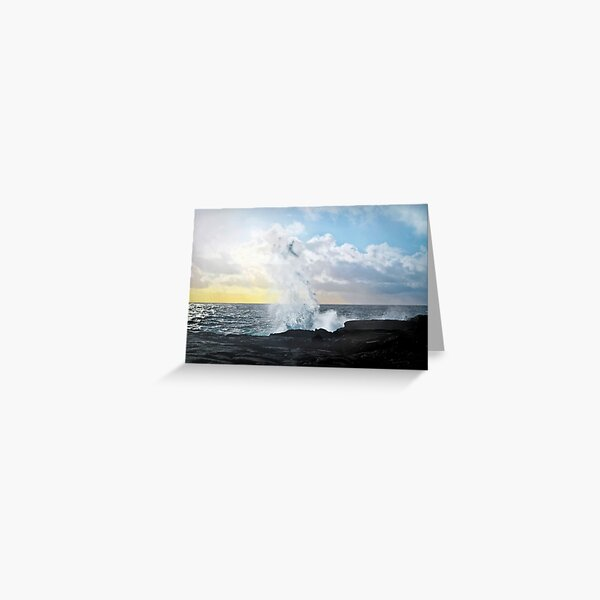 Pacific Rising Greeting Card