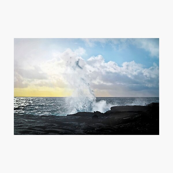 Pacific Rising Photographic Print