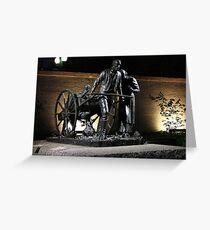 Handcart Pioneer Monument Greeting Card