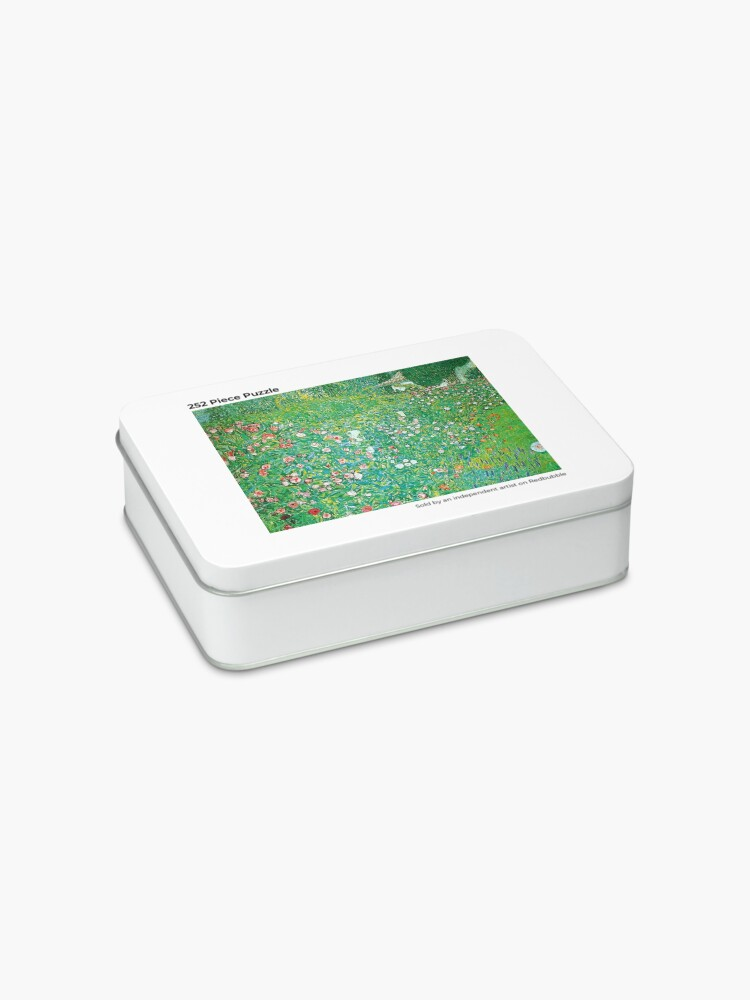 Alternate view of GUSTAV KLIMT GARDEN Jigsaw Puzzle