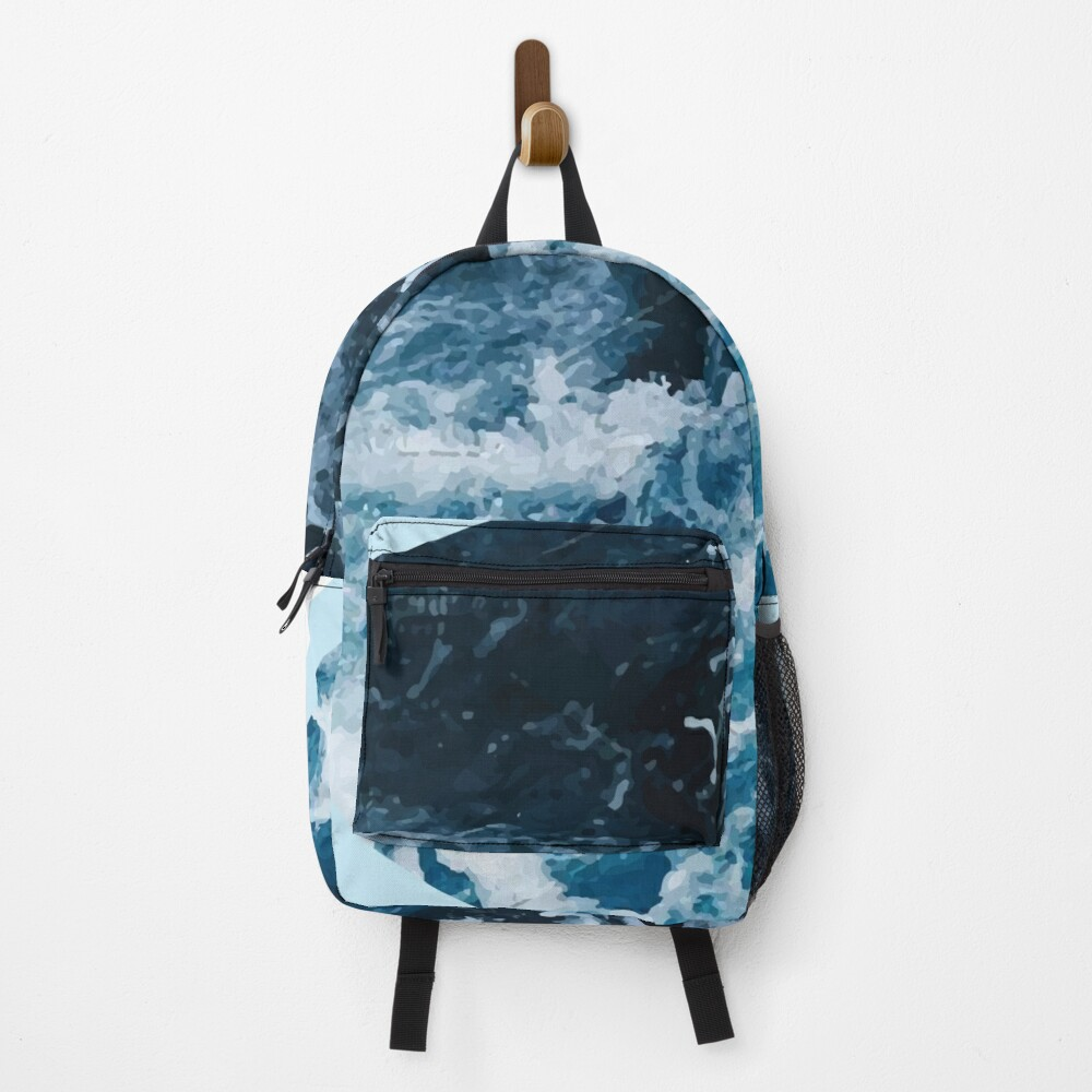 Wave Aesthetic  Backpack