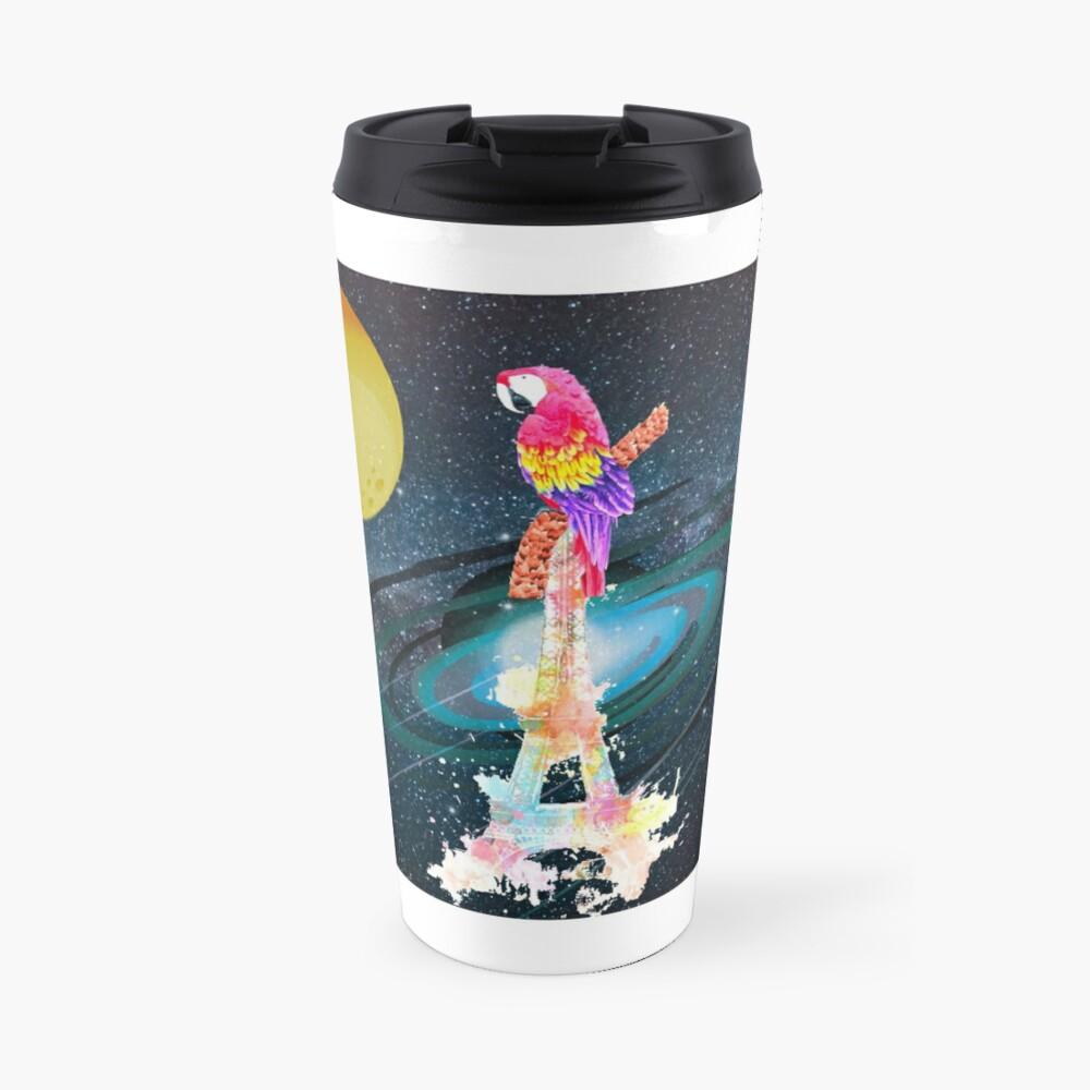 Paris Space Bird Travel Mug
