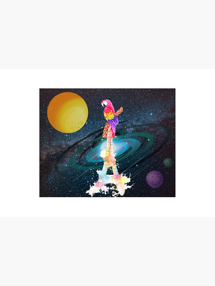 Paris Space Bird by ianraverr