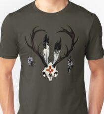 Ceremonial Jackalope Skull Unisex T-Shirt