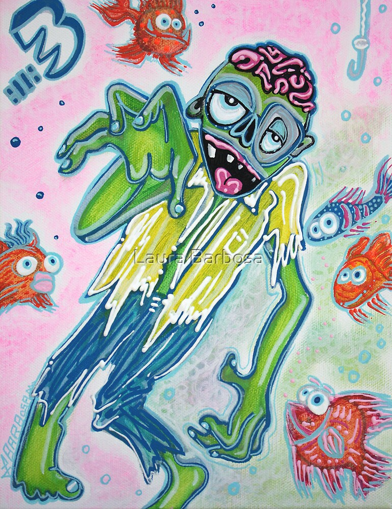 My Pet Zombie 3 - Fish Bait by Laura Barbosa