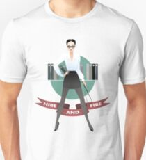 The personnel manager Unisex T-Shirt