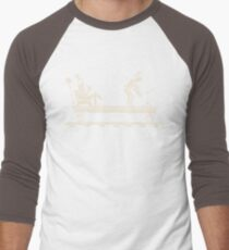 Handcar Limo Men's Baseball ¾ T-Shirt
