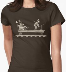 Handcar Limo Womens Fitted T-Shirt