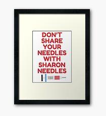 Sharon Needles Framed Print