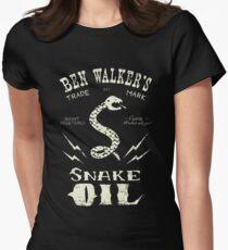 Ben Walker's Snake Oil Womens Fitted T-Shirt