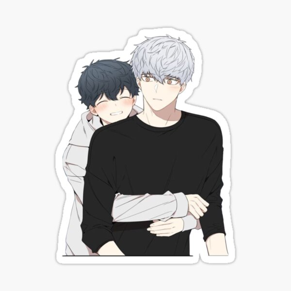 Yaoi/BL Anime Sticker