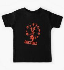 12 doctors Kids Tee