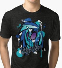 vinyl pony  Tri-blend T-Shirt
