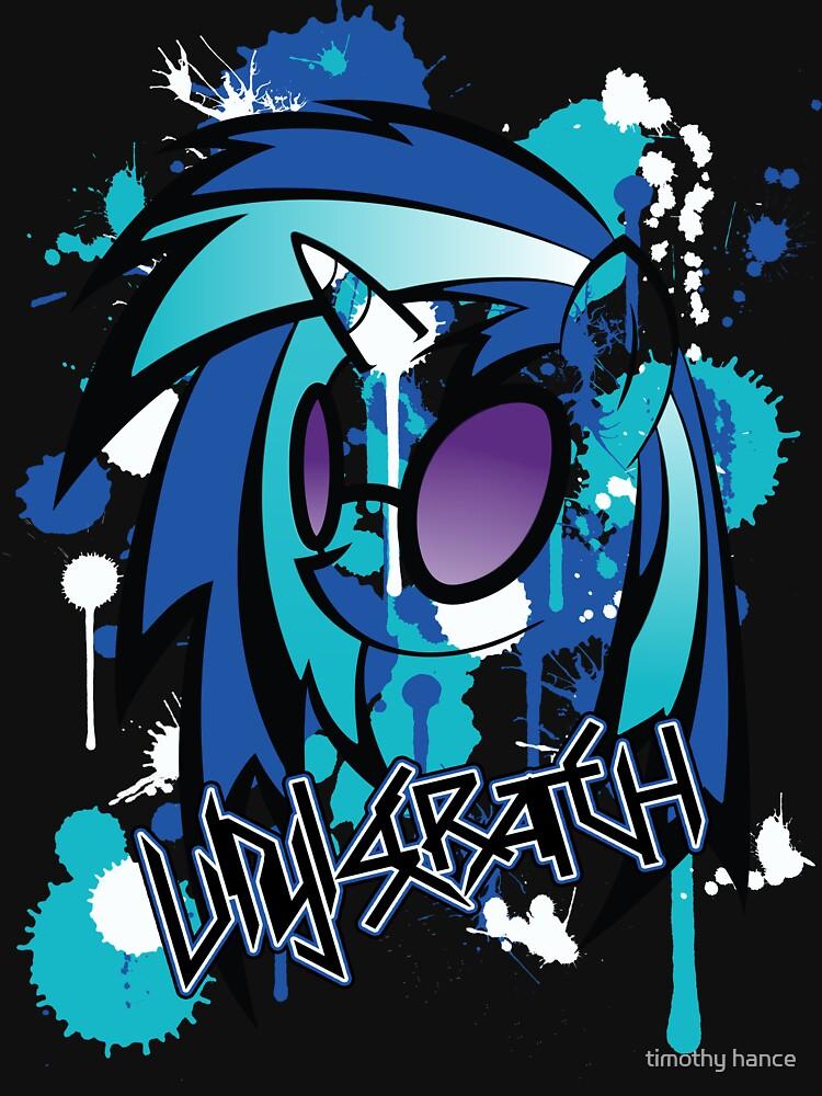 vinyl pony  | Unisex T-Shirt