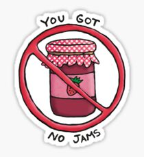 You got no jams (literally) - Rap Monster (BTS) Sticker