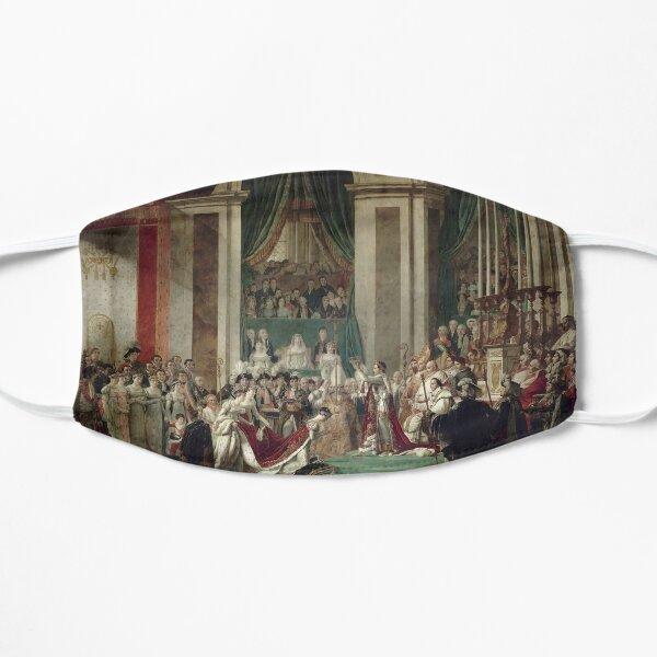 The Coronation of Napoleon and Josephine - Jacques-Louis David Flat Mask