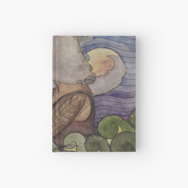 Two Worlds Hardcover Journal