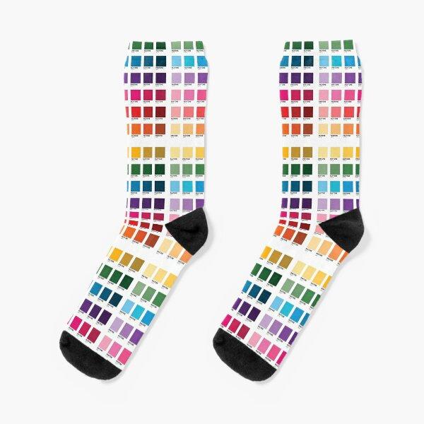Shades of Pantone Colors Socks