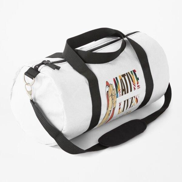 Native  American Lives Matter Duffle Bag