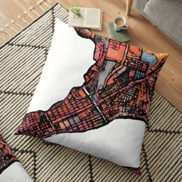 Madison, WI Floor Pillow