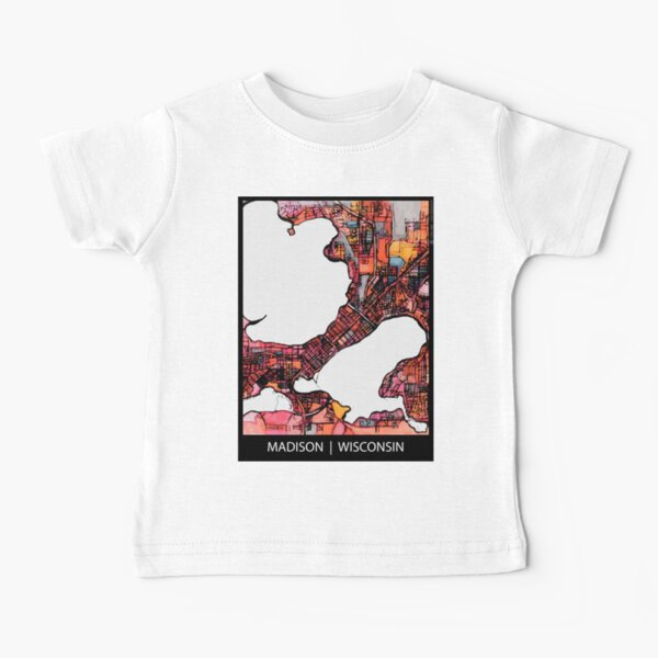 Madison, WI Baby T-Shirt