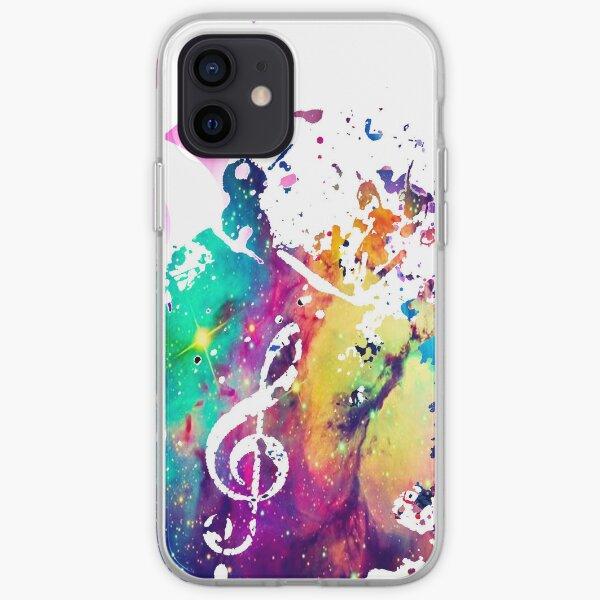 Music Galaxy Case iPhone Soft Case
