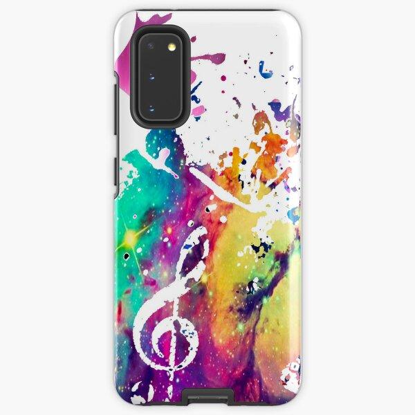 Music Galaxy Case Samsung Galaxy Tough Case