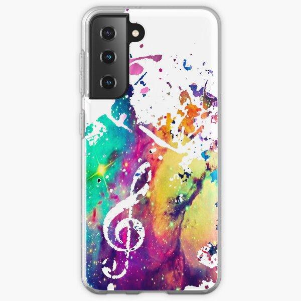 Music Galaxy Case Samsung Galaxy Soft Case