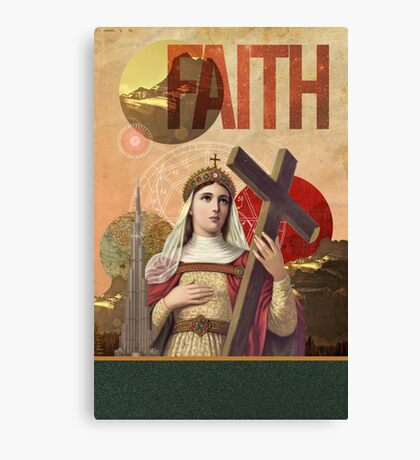 Rise Of Mary Canvas Print