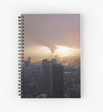 Partly sunny in Frankfurt Spiral Notebook