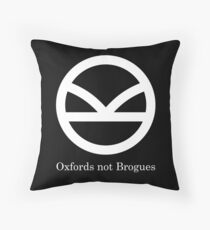 Kingsman Secret Service - Oxfords not Brogues Throw Pillow