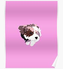 Pink Puppy Poster