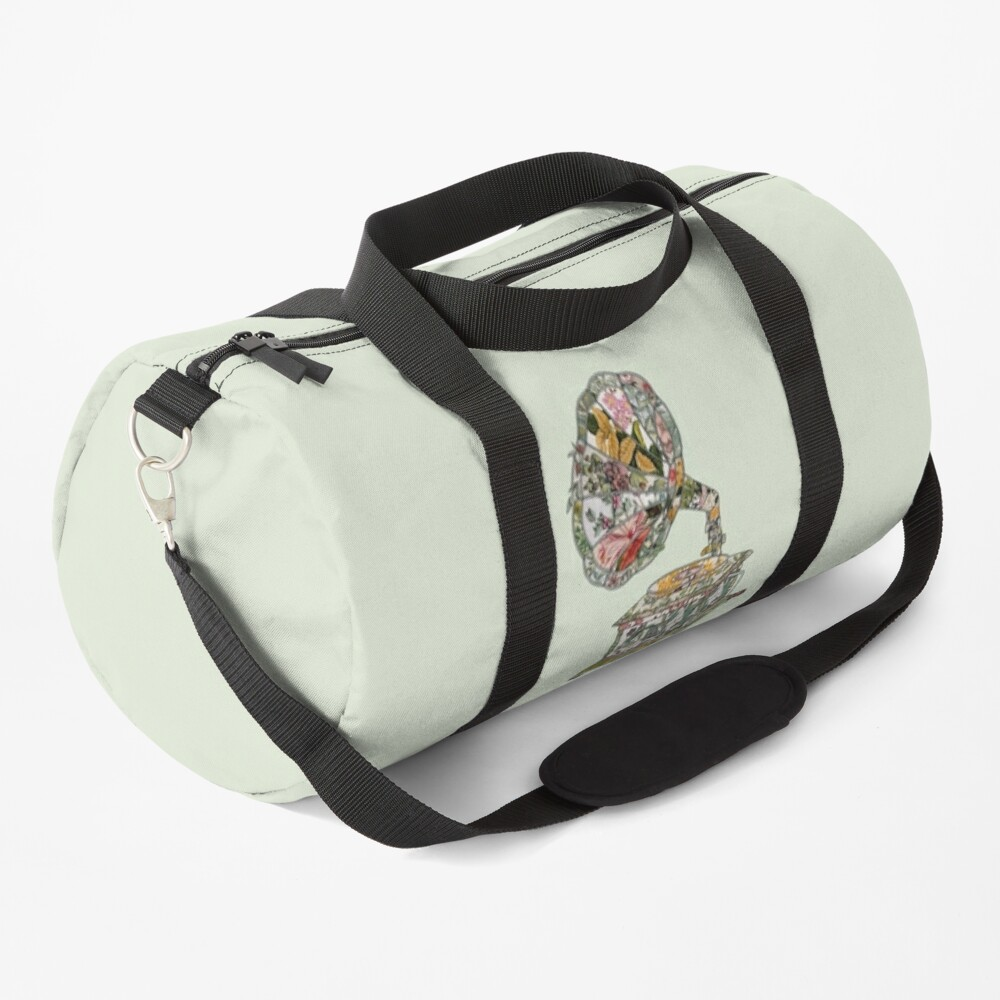 Seeing Sound Vintage Botanical Duffle Bag