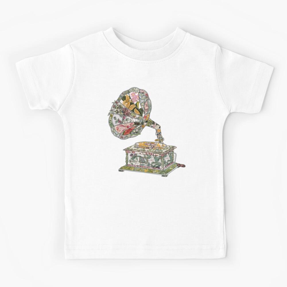 Seeing Sound Vintage Botanical Kids T-Shirt