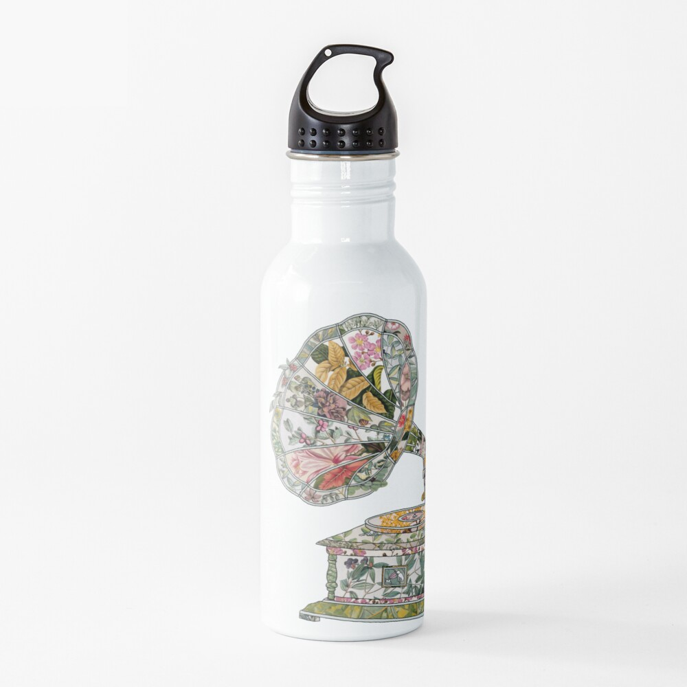 Seeing Sound Vintage Botanical Water Bottle