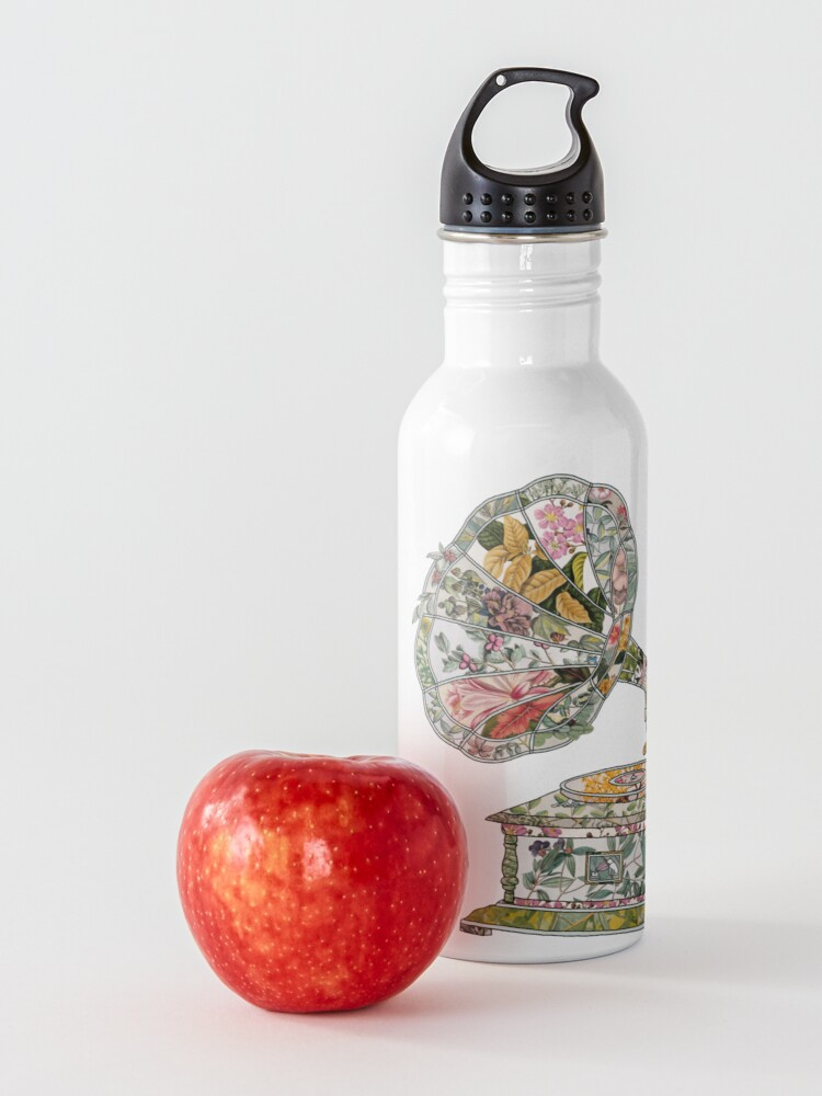 Alternate view of Seeing Sound Vintage Botanical Water Bottle