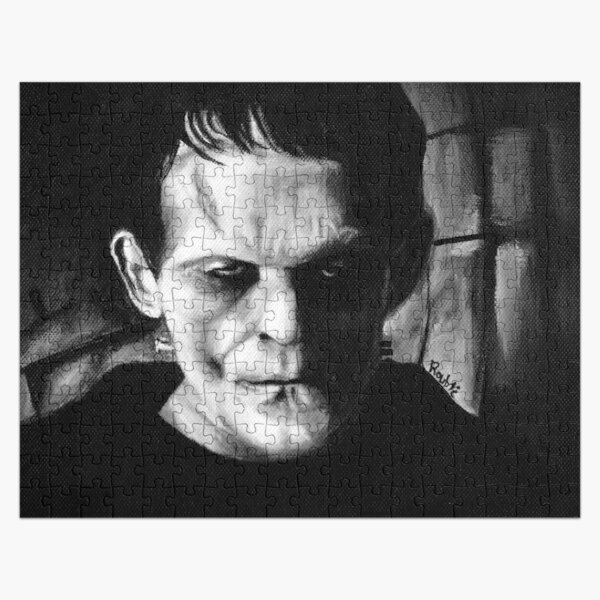 THE MONSTER of FRANKENSTEIN Jigsaw Puzzle